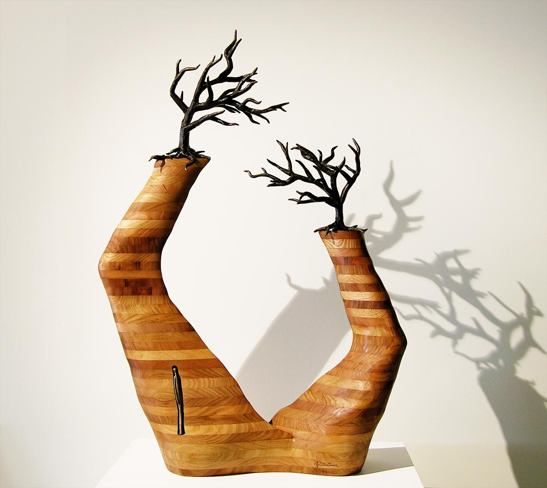 Anatomy Of A Canyon Stratman Studio Sculpture By Jennyfer Stratman